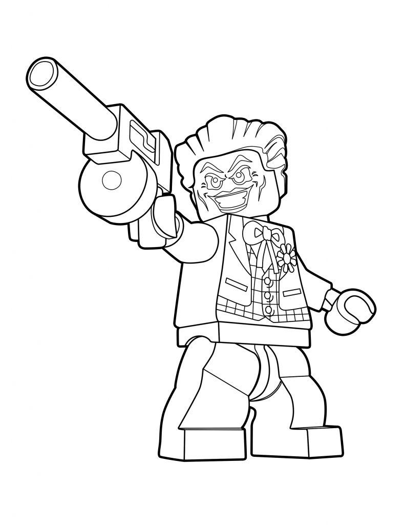 LEGO Joker Color Page - LEGO DC Super-Villains - The Brick ...